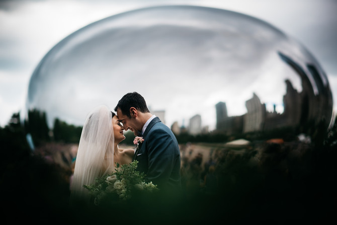 Garfield Park Conservatory Wedding : Jordan + Dan
