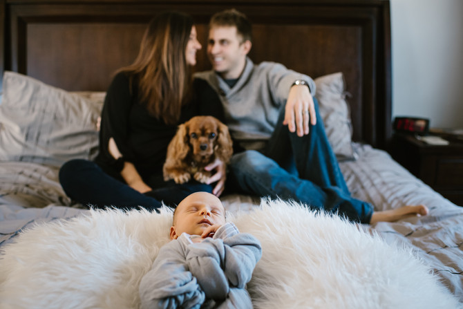 Lifestyle Newborn Session : Declan