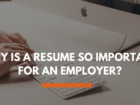 Why Your Resume is Even More Important Right Now