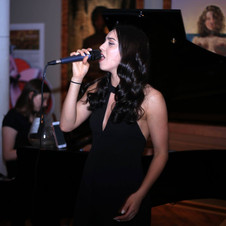 Lounge Singer at Opening Night Party