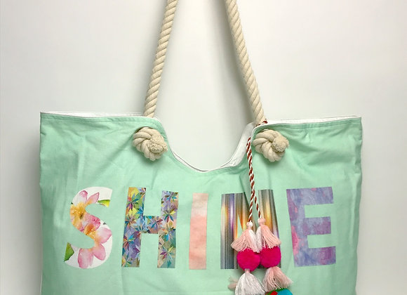 Tote Bag: SHINE