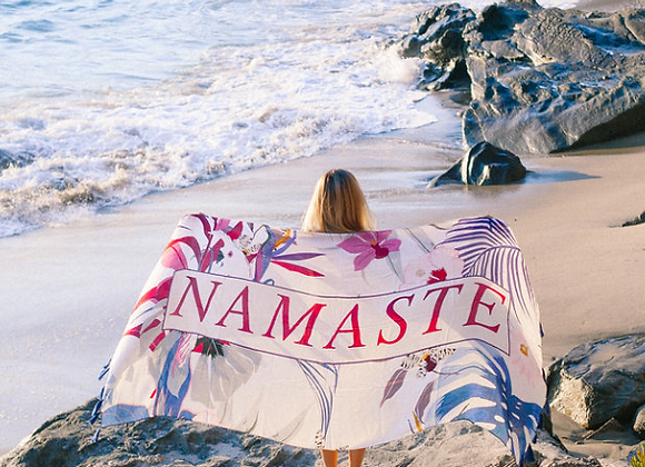 Namaste Wander Word Wrap