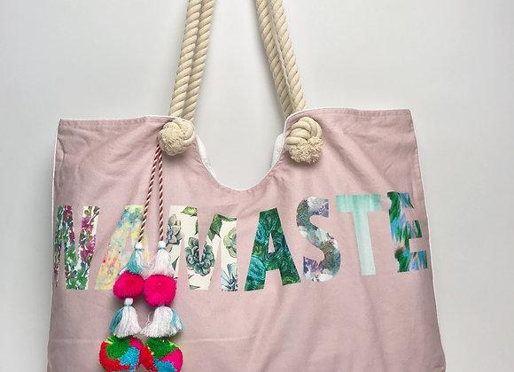 Tote Bag: NAMASTE