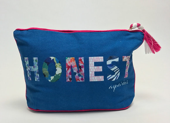 7 x 11 AQUARIUS: Honest Zodiac Pouch