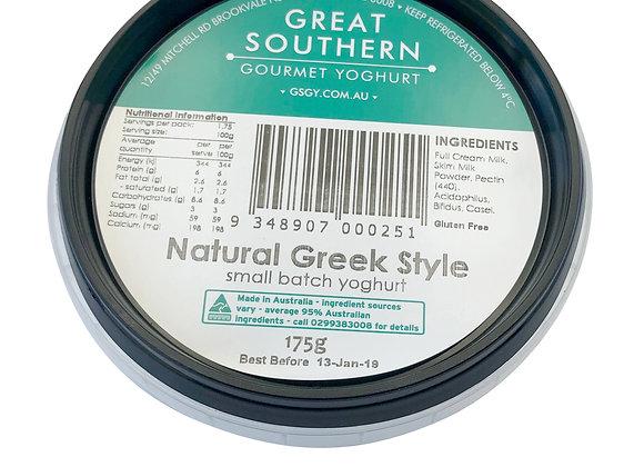 Natural Greek Style Yoghurt