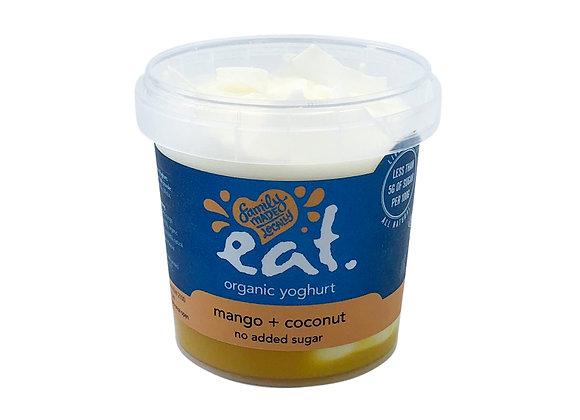 Mango + Coconut No Added Sugar Organic Yoghurt