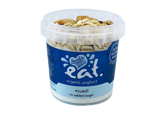 Muesli No Added Sugar Organic Yoghurt
