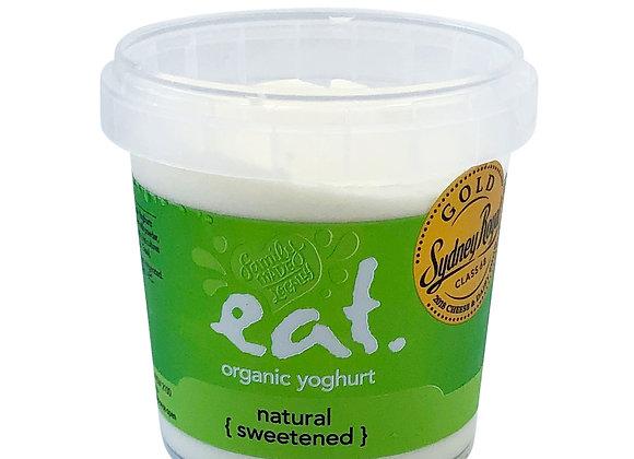 Natural Sweetened Organic Yoghurt