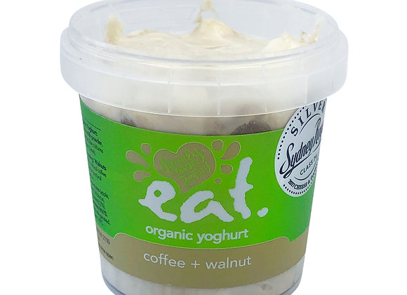 Coffee + Walnut Organic Yoghurt
