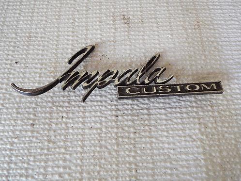 1971-1976 Impala Badge
