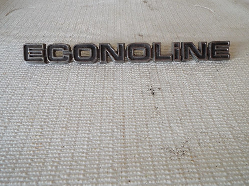 Ford Econoline Badge