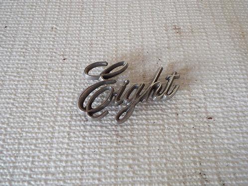 Oldsmobile 8 Badge