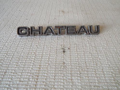 Ford Chateau Club Wagon Badge