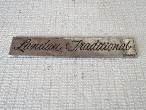 Landau Traditional Badge