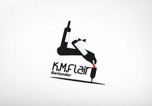 K.M. Flair bartender