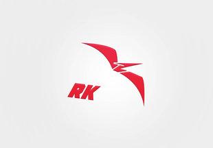 RK monogram symbol