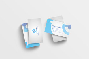 SpinCRM business cards