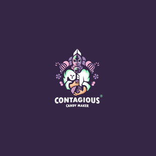 Contagious candy maker