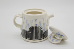 Rainy Day Teapot