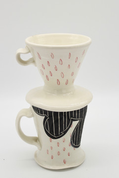 Morning Maker: Coffee Cup and Pour-over Set
