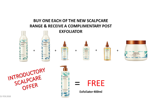 MIZANI Scalpcare  INTRODUCTORY SET (7 items)