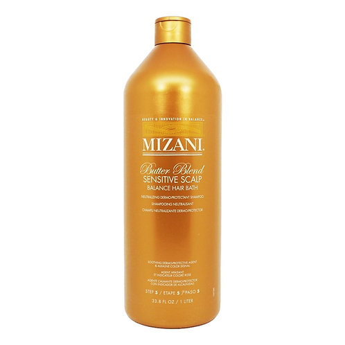 MIZANI Butterblend Sensitive Scalp (Balance hair Bath) Neutralising Shampoo 1Ltr
