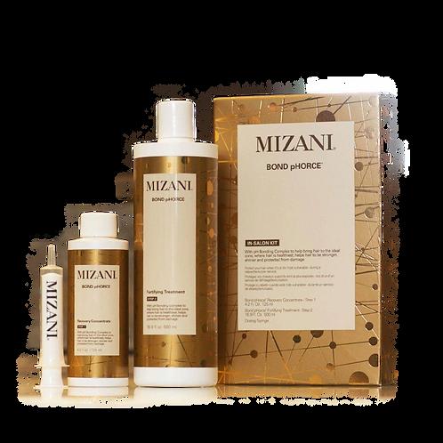 Mizani Bond pHorce Treatment Kit (125ml step1 +500ml Step2)