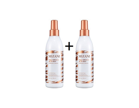 2 x MIZANI Miracle Milk - 25 Benefits Sprays, 250ml each