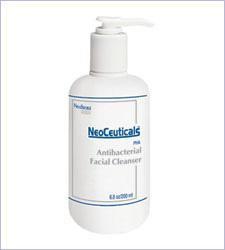 Antibacterial facial cleaner