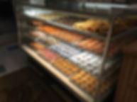 decorated cake glazed donuts