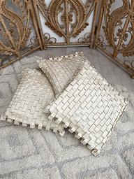 Woven Silk Cushion