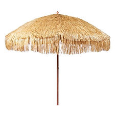 Raffia Umbrella