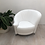 Thumbnail: White Leather Chair