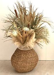 Raffia Pot Florals