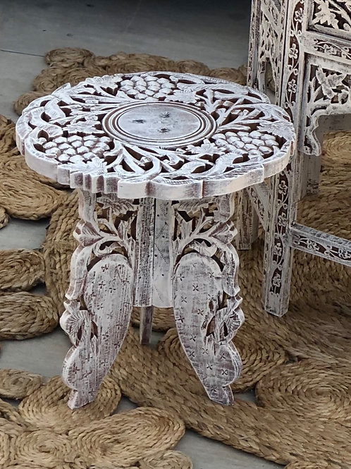 Small Carved Cake Stand