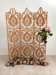 Vintage Cane Screen