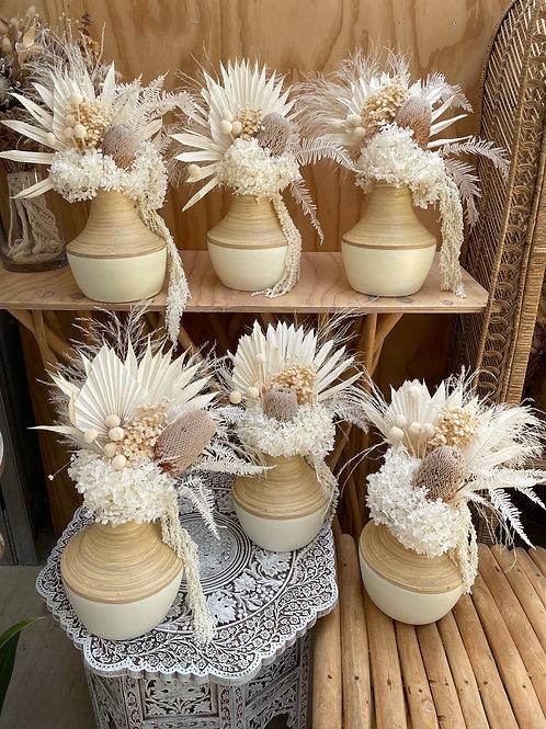 Dried florals in Vase