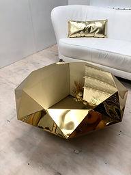 Gold Diamond Table
