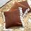 Thumbnail: Rust Tassel Cushion