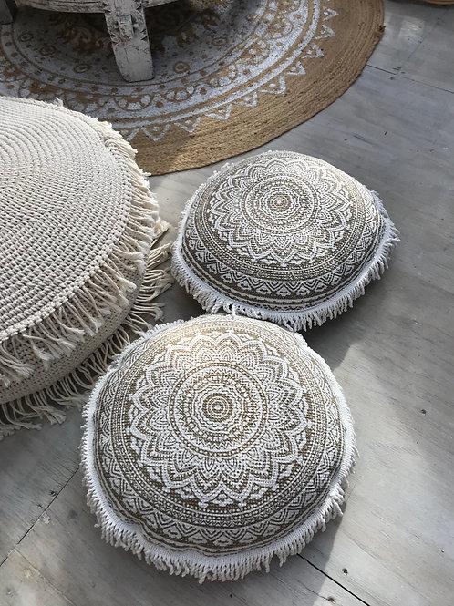 Mandala Fringe Cushion