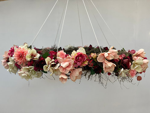 Colourful Floral Wreath