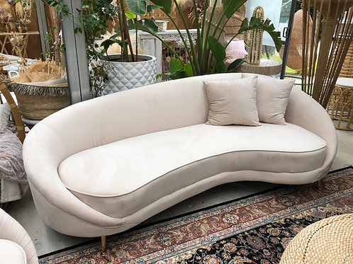 Beige 4 Seater Couch