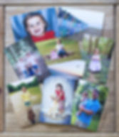 Photo of photographs on a table