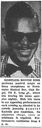 Ohio Sentinel - July 5, 1958 Ronnie Kirk picture