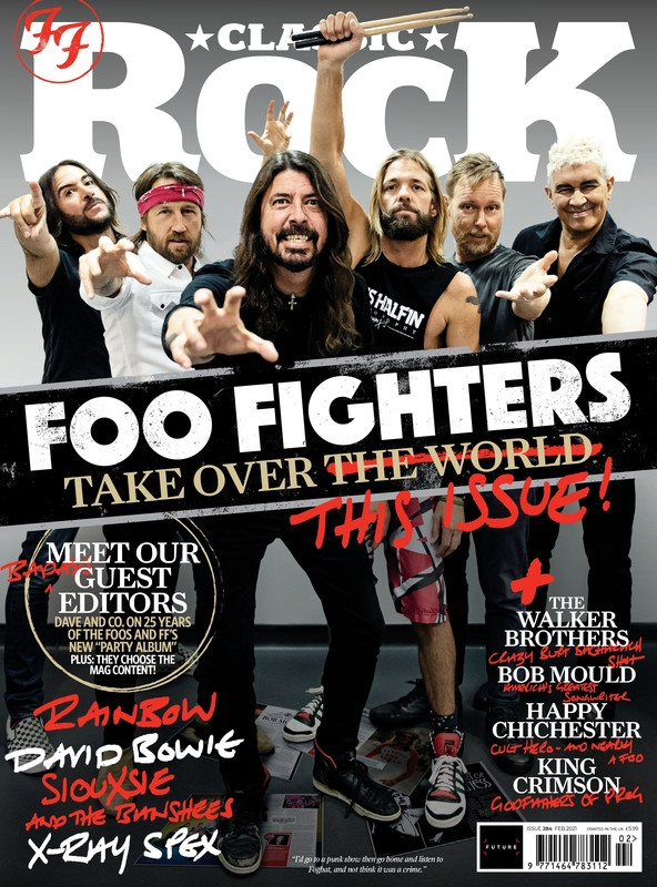 Classic Rock Issue 284 cover