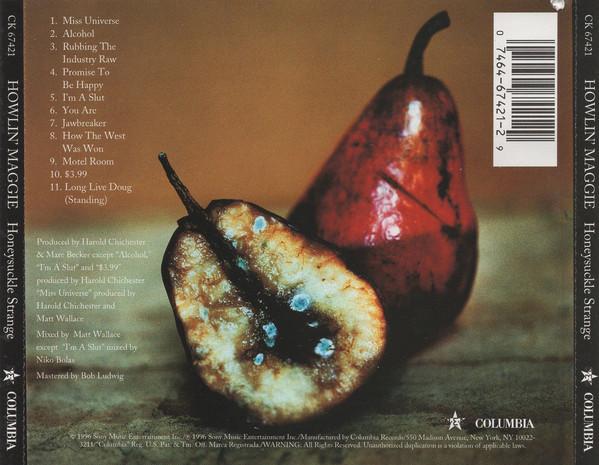 Back cover of Honeysuckle Strange