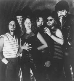 Lineup for second album, Nightcaller, 1983