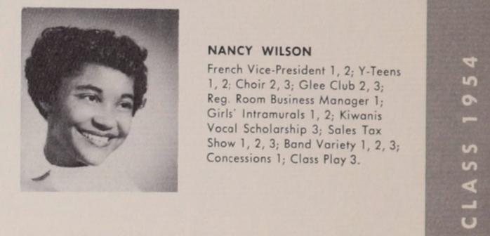1954 West High School yearbook