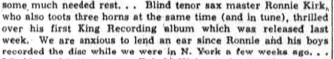 clip from Ohio Sentinel - June 22, 1957