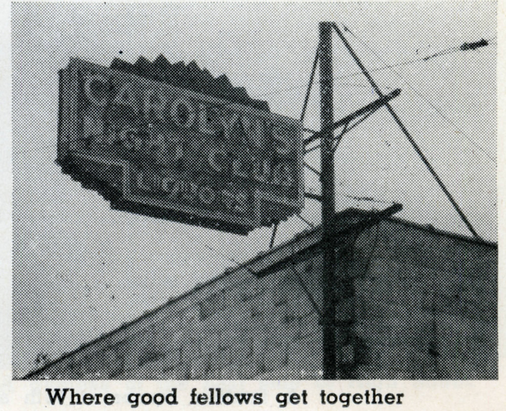 Photo of Carolyn's Night Club sign